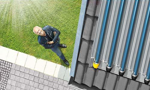 Solarthermie für Wärme